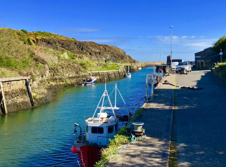 Anglesey Coastal Path Amlwch Port