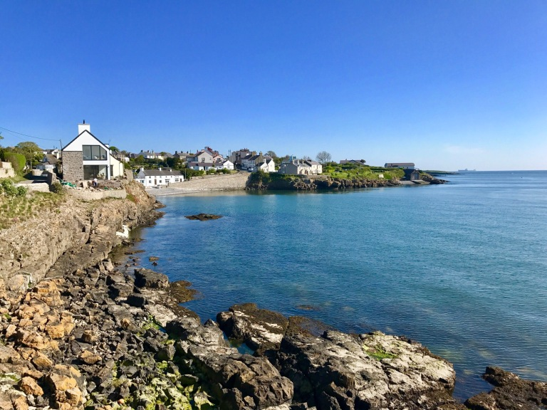 Anglesey Coastal Path , Moelfre