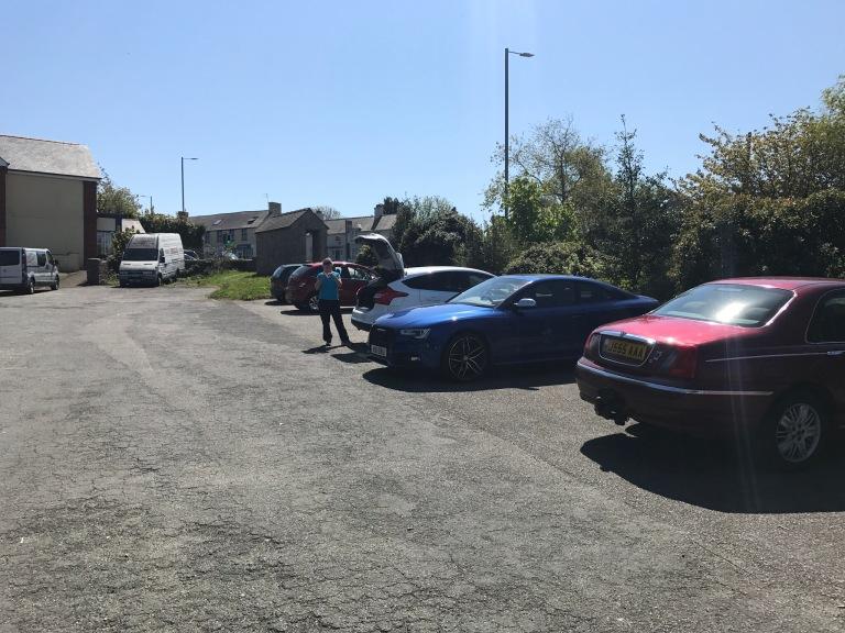 Car park at Pentraeth