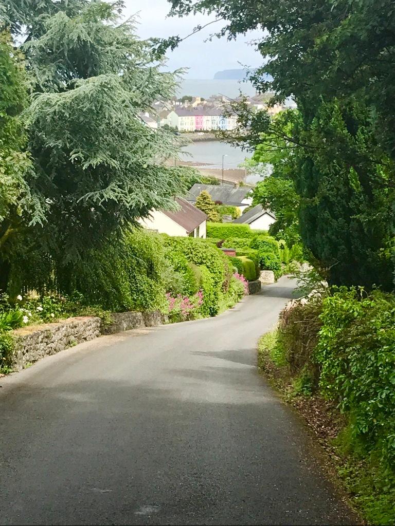 Looking Down on Beaumaris