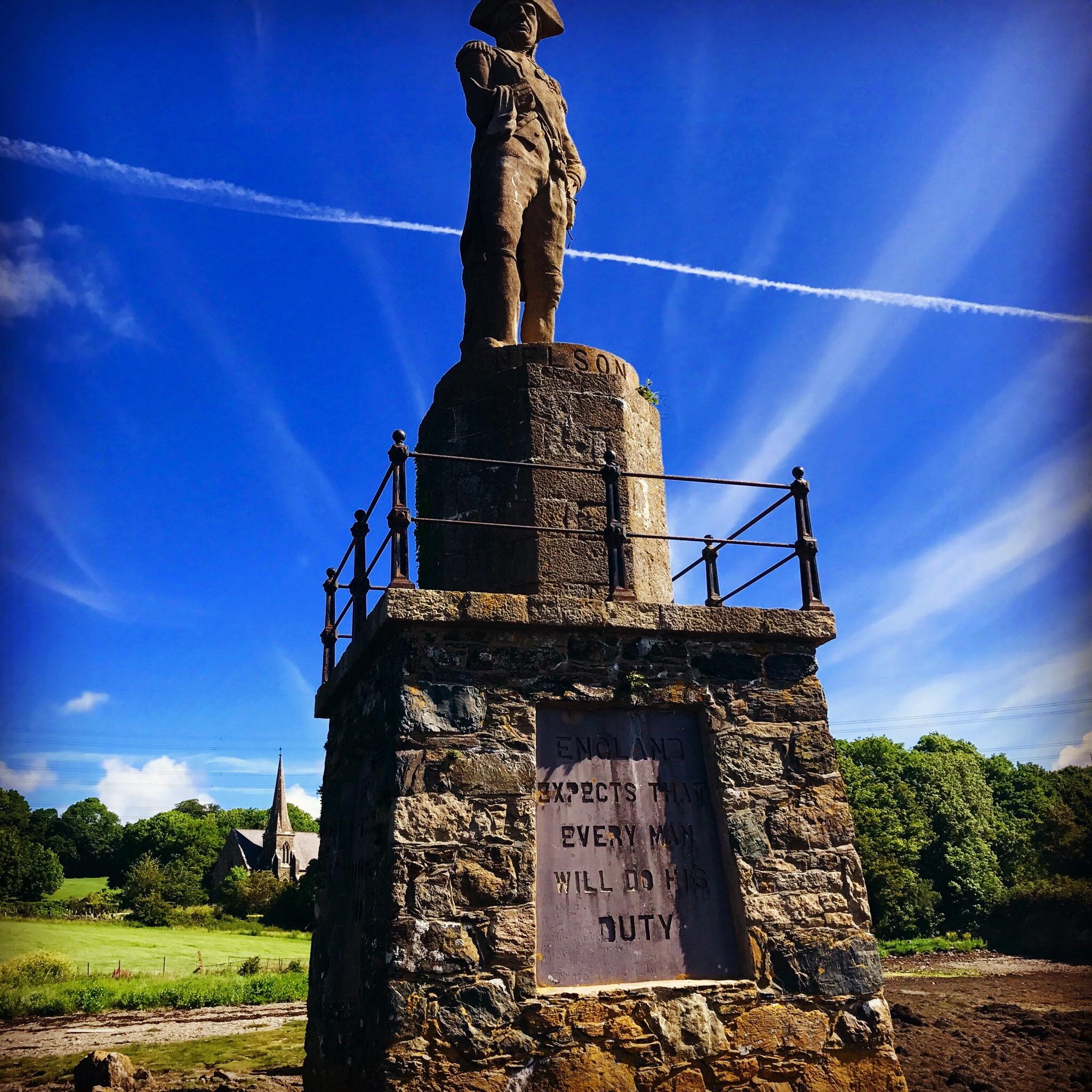 Lord Nelson Statue - Menai Straight