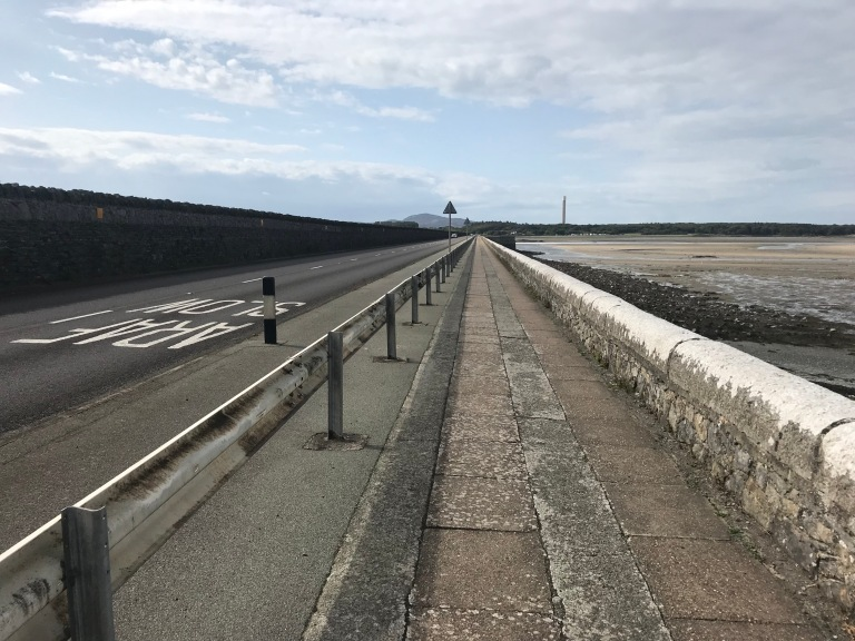 Stanley Embankment Causeway on Holyhead