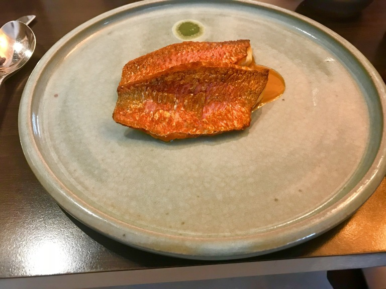 Paul Ainsworth at No6 In Padstow, Red Mullet