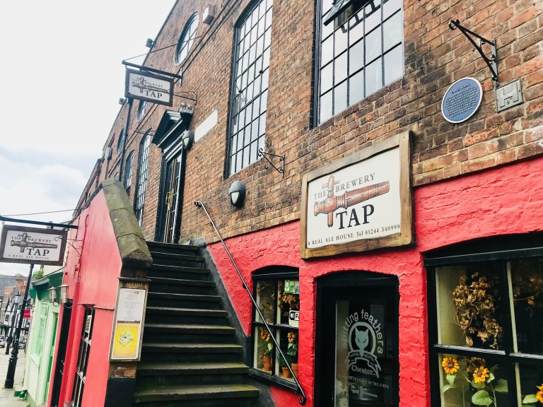 The Brewery Tap Pub In Chester