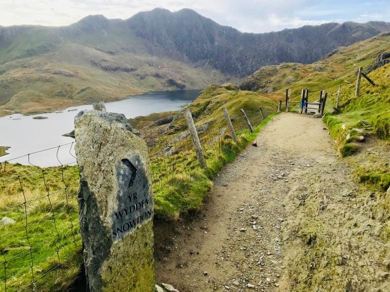 Snowdon Pyg Track Half Way