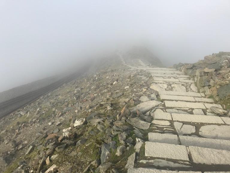 Snowdon Summit mist