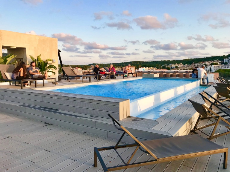Rooftop Pool at H10 Casa Del Mar Hotel
