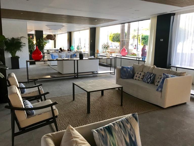 Reception at H10 Casa Del Mar Hotel
