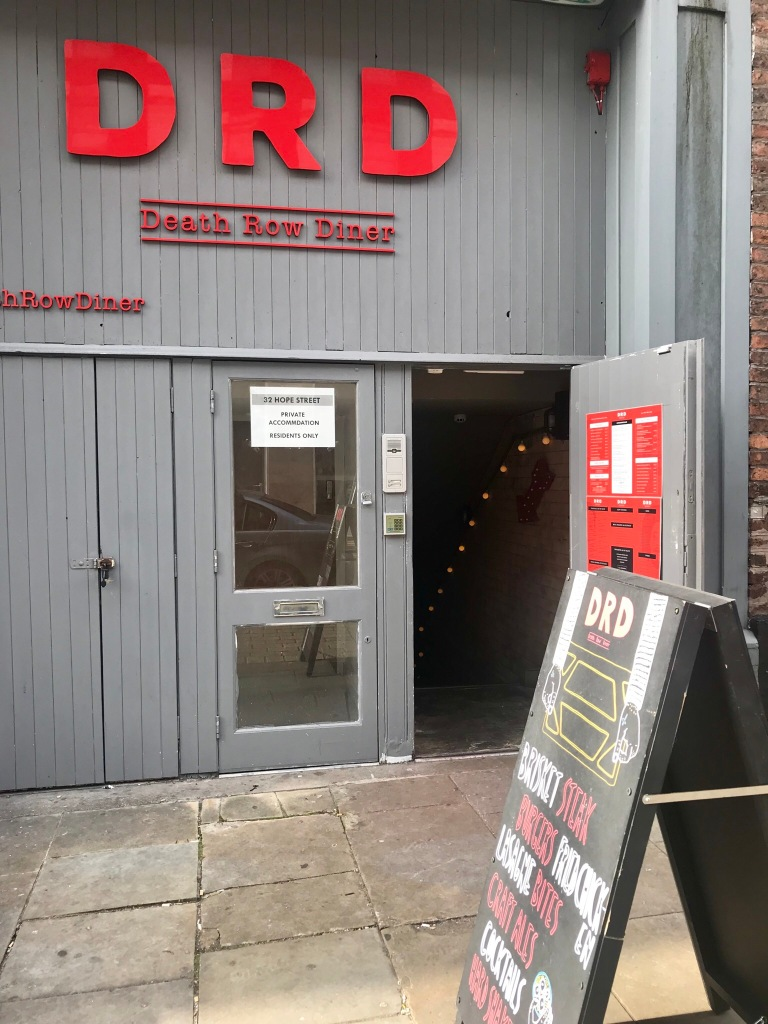 Entrance to the DRD