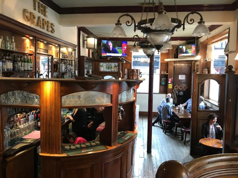 Inside the Dispensary Pub