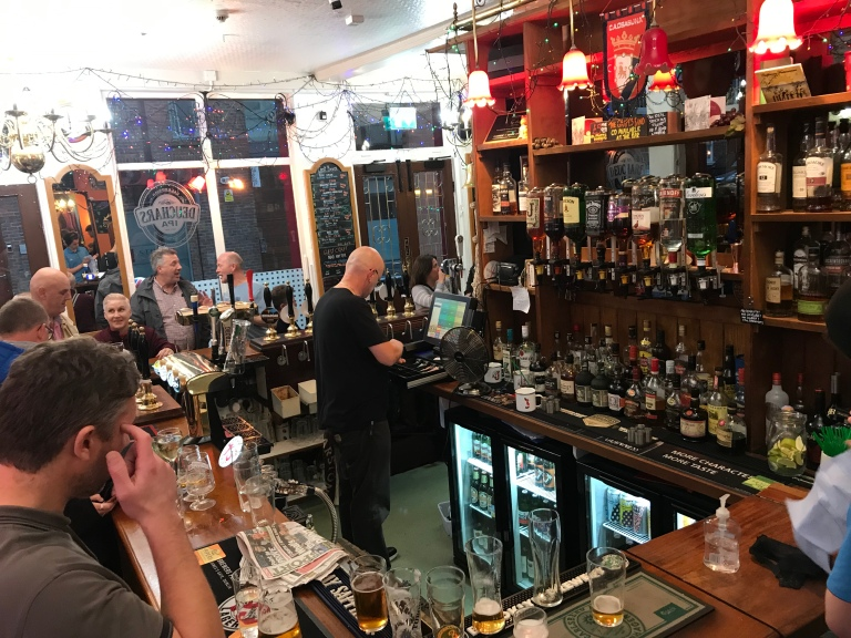 Grapes Pub, Roscoe Street, Liverpool
